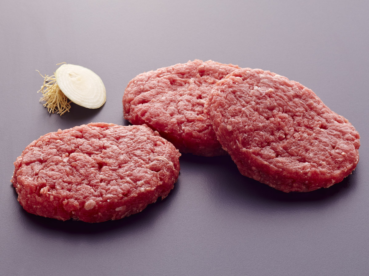 Hamburguesas de ternera carne para plancha freir - Plancha para hamburguesas ...