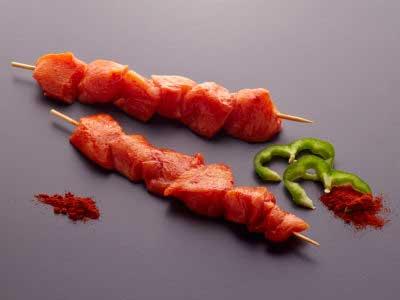Pincho Pollo Campero. Carne parrilla - plancha - horno. BROCHETA